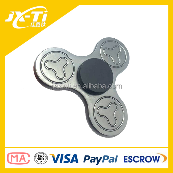 Hybrid Ceramic 606 Bearing Zinc Alloy Finger Spinner Fidget Toy Ceramic Spinner