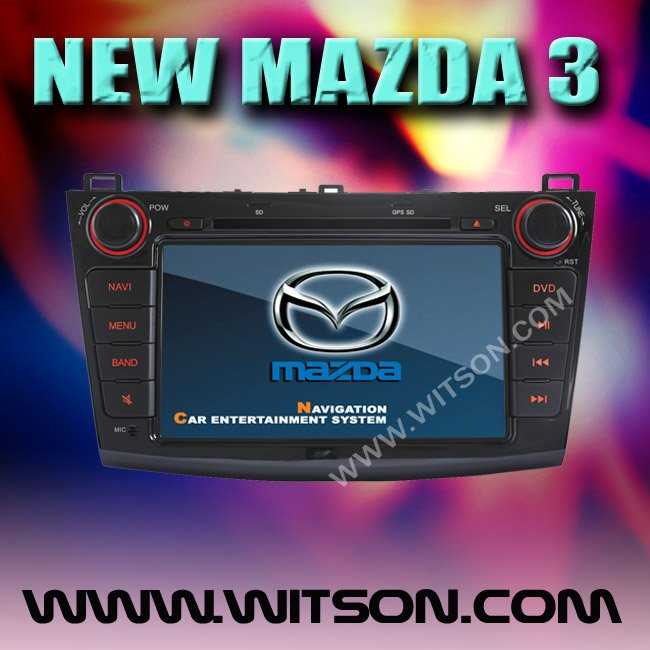 WITSON NEW MAZDA 3 (2010-2011) DOUBLE DIN WINDOWS CE CAR DVD with Radio RDS function