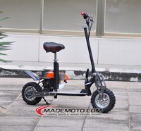 Foldable 2 Stroke 3 Speed Mini 49CC Gas Scooter Stand Up