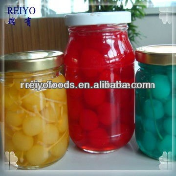 Canned cherries red in syrup 850ml tins in China without stem 2013