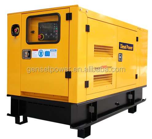 With Perkins Engine 45kva Silent Genset