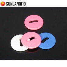 anti high temperature black color washable rfid uhf pps laundry tag