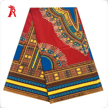 Wholesale price 100 cotton African ankara real wax printed fabric for dress