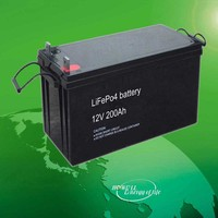 UN, UL Approved 12V 24 Volt 100Ah 200Ah Lithium Ion Battery, Deep Cycle 12V 24V LiFePO4 Battery