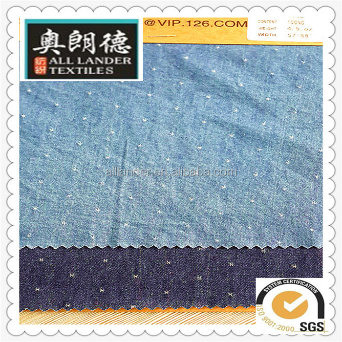 jacquardwoven denim jeans fabric factory in changzhou