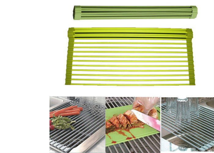home furniture silicone Kitchen roll up drying rack
