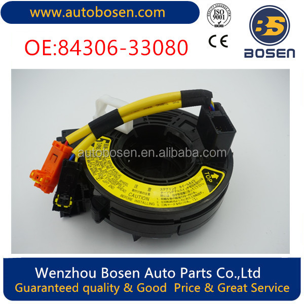 Clock Spring Airbag Spiral Cable 84306-33080 For Toyota Crown Camry Reiz Rav4