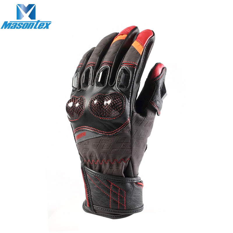 Cow Leather Anti <strong>Shock</strong> motorbike sports safety motorcycle glove