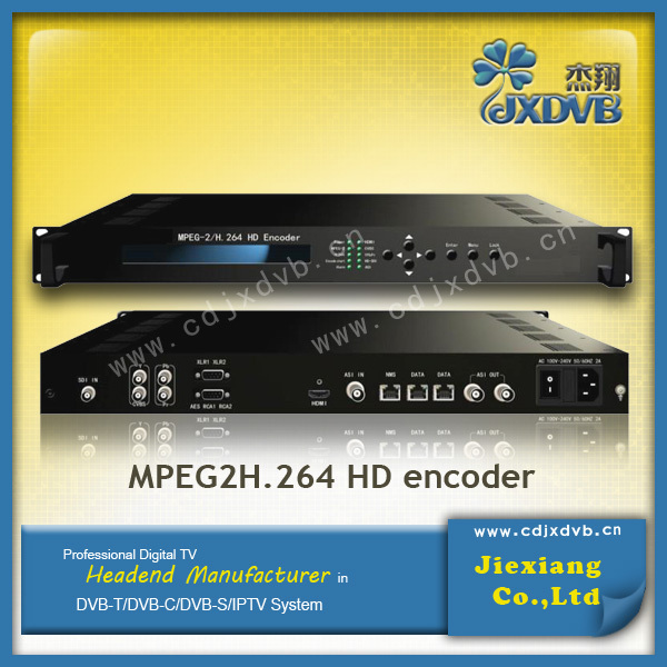 IP to SDI MPEG4 AVC/H 264 HD Encoder