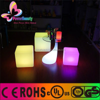 Plastic cube table lamp,color changing cubic mood light,plastic housing table lamp glowing colorful nice cube decor led