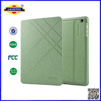 NEW Silk Texture Leather Flip Case Cover for ipad 4 -- Laudtec