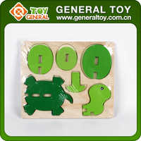 18*15*1cm Intelligent Game 3D Puzzle DIY Toy 3D Wooden Puzzle Animal