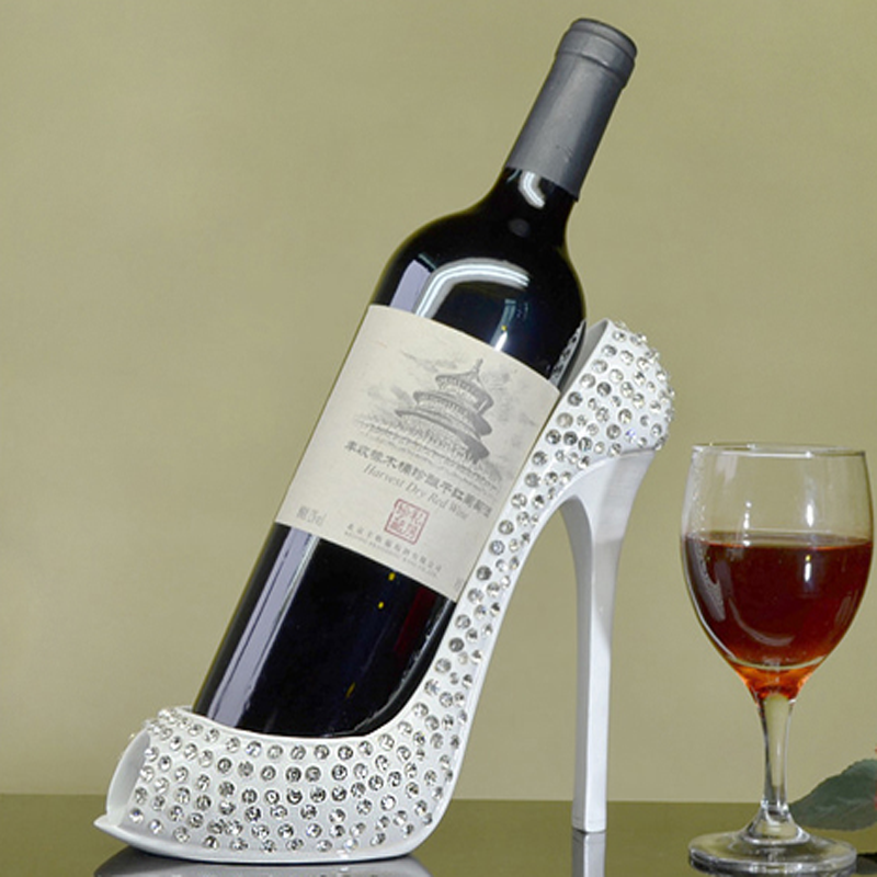 High Quality High Heel Shoes Wine Rack Special Wine Holder