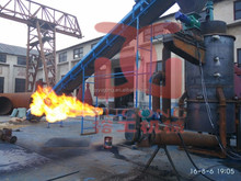 Agricultural waste/wood biomass gasifier for boiler and drying machine