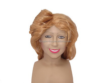 Golden wave wig Human hair wig Synthetic wig