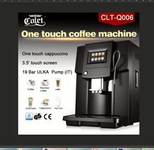 hot selling high quality abs housing material espresso coffee machine