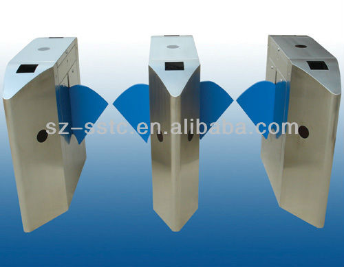 Full automatic high safety flap barrier gate entrance access control system