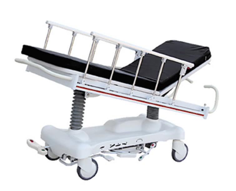 AC-ST015 Luxurious height adjustable hydraulic patient transport stretcher