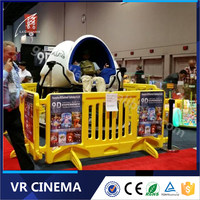 High Return Small Invest Easy Operation Shop Mall/Beach/Amusement Park/Pub Equipment 9D Egg VR Cinema