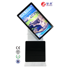 42 inch standing digital rotating advertising display panel