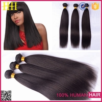 Alibaba pad for cheap 18 inch remy Indian human hair extension 100% virgin hair yaki straight human hair weft