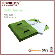 Clear recyclable eco-friendly felt bag for ipad mini
