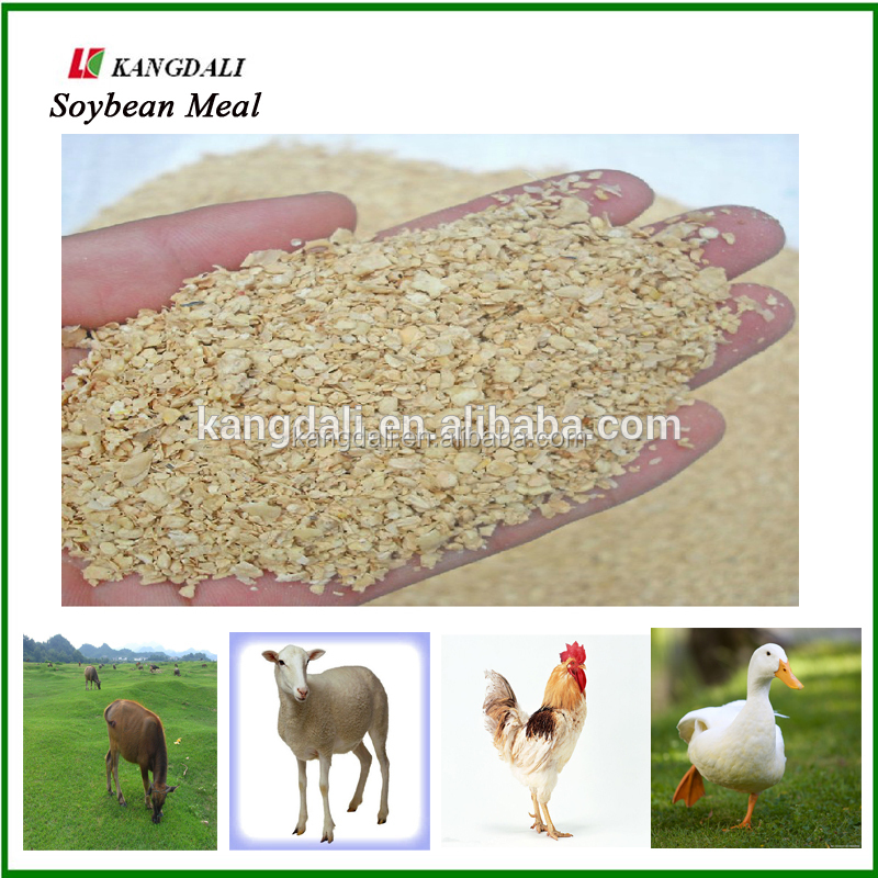 China Supplier Animal Protein Soybean Meal 46% Feed Grade