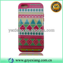 Glossy Skin Tribal Design Cover For Iphon 5c Mobile Phone Case
