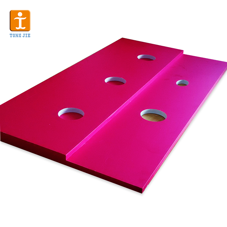 Multi-colored printing 12mm thick PVC thin rigid plastic sheet