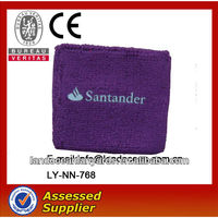 Custom Embroidered Cotton Sports Wristband