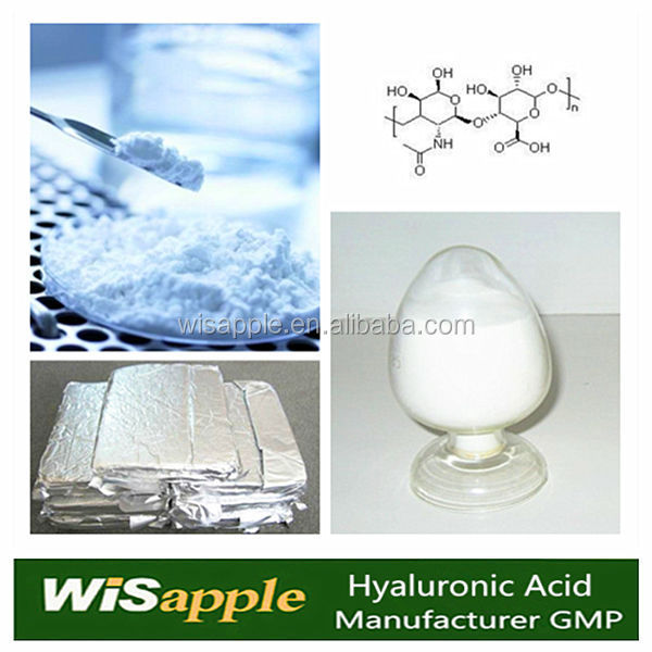 Manufacturer GMP DMF High Quality Hyaluronic acid