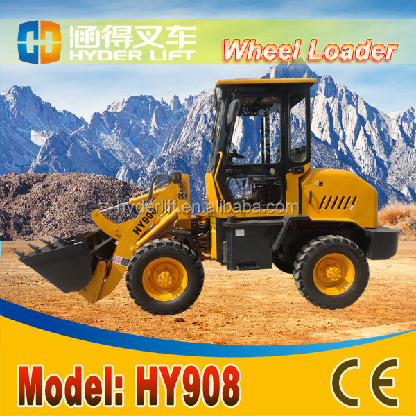 Good performance cats 936e wheel loader