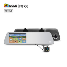 "5.0"" IPS Touch Screen MS8328P Car Rearview Mirror Camera DVR for Vehicles Front and Rear Mirror DVR with Parking Mode"