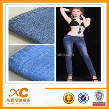 cheap calico denim fabric
