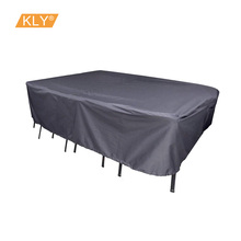 Waterproof Polyester table Cover Garden Furniture Cover