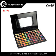China supplier cosmetics 88 Color Rainbow shimmer color Makeup Eyeshadow Palette cosmetics list 88AG