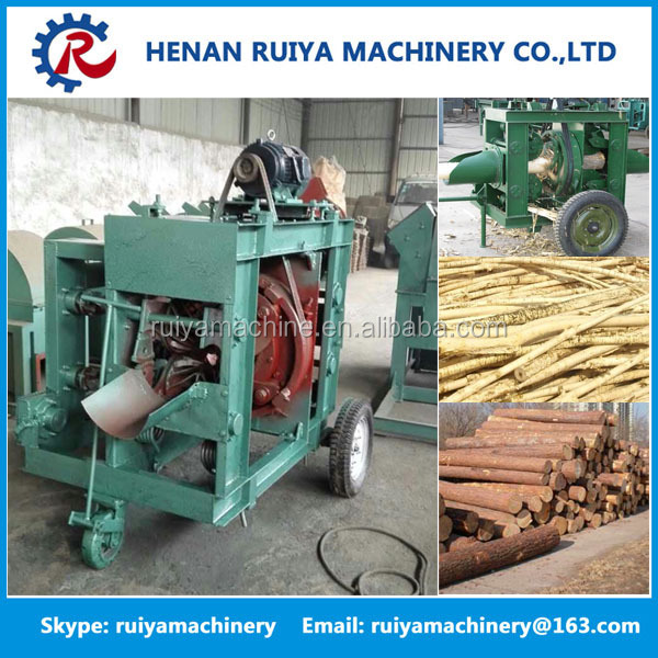 Wood log bark Remover,bark removing machine,Wood Peeler for peeling tree skin