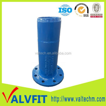 Sand Casting Ductile Iron Pipe Fittings Flange Spigot