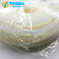 transparent heat-resistant silicone rubber seal strip