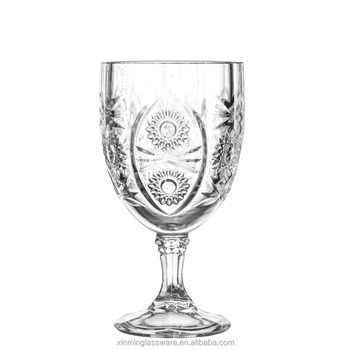 wholesale glass dringking glass for wine