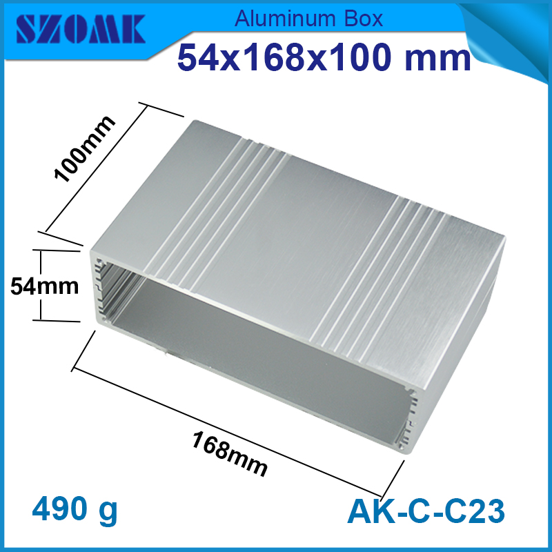 customized aluminum extrusion box enclosure