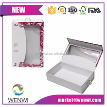 Custom Logo Packaging Flip Top Gift Boxes with Magnetic Catch