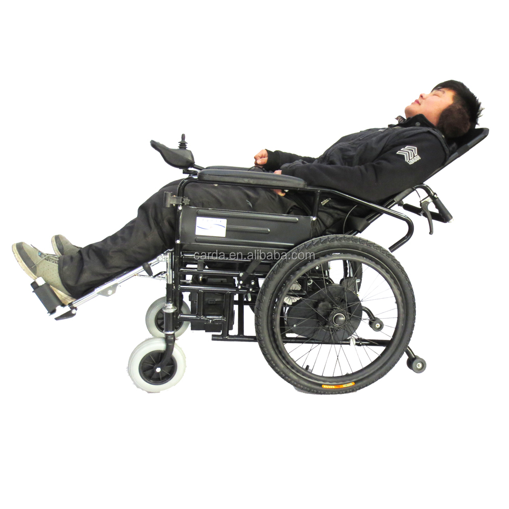 reclining light electric wheelchair/ outdoor electric wheelchair foldable/price of wheelchair