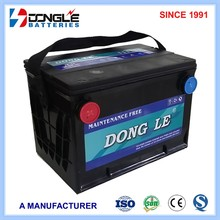 Hot Types 12V 60Ah 78-60 High Quality as ac delco automotive battery