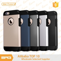 BRG 2016 New Ultra-Thin China Mobile Phone 2 in 1 PC TPU Case For iPhone 6 Mobile Phone Accessories