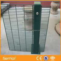 China Supplier BETA SECURIFOR Nylofor 3D PVC coated fence 358 Anti climb fence Nylofor 2D Double wire fence
