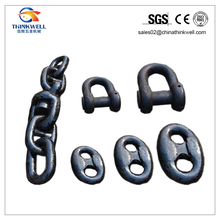 Stud Link Anchor Chains for Marine with Kenter Shackle