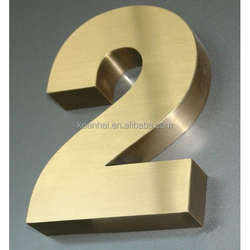 Customized Stainless Steel Letter Sign Metal 3D Letter Sign Channel Letter