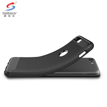 High quality carbon fiber brush mobile phone case cover for oneplus 5