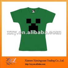 Girls Grass Green Funny Create A T-shirt